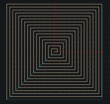 Python planetCNC pattern